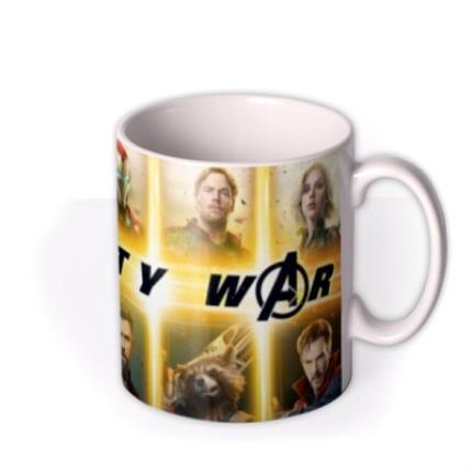 Mugs - Birthday mug - The Avengers Infinity War - Marvel - Superhero - Photo upload mug - Image 2