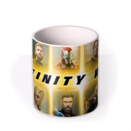 Mugs - Birthday mug - The Avengers Infinity War - Marvel - Superhero - Photo upload mug - Image 3