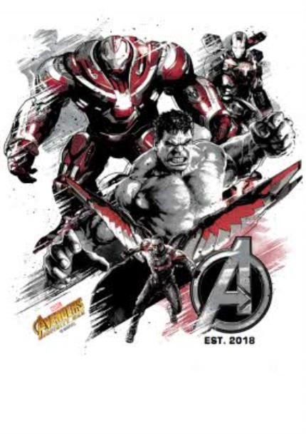 T-Shirts - Birthday t-shirt - The Avengers Infinity War - Marvel - Superhero  - Image 4