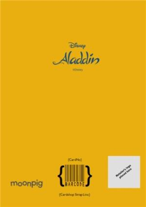 Greeting Cards - Aladdin Genie photo upload Birthday card for Dad - Image 4