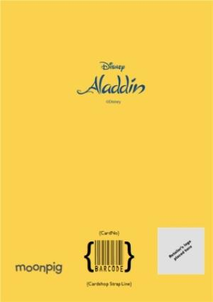Greeting Cards - Aladdin Have a magical Birthday - Photo Upload Birthday Card - Image 4