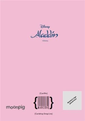 Greeting Cards - Aladdin Birthday Card - Jasmine - To a Fantastic Niece Birthday Card - Image 4