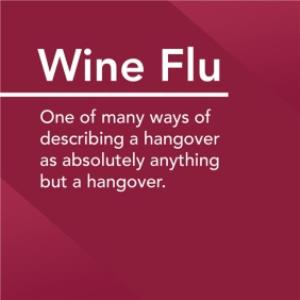 Greeting Cards - Alternative Type Wine Flu Definition Card - Image 1