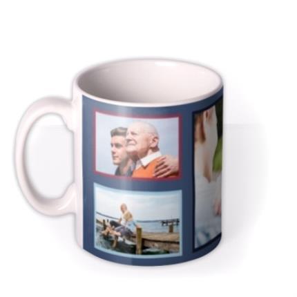 Mugs - Grandad Father's Day Photo Upload Mug - Image 1