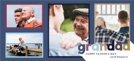 Mugs - Grandad Father's Day Photo Upload Mug - Image 4