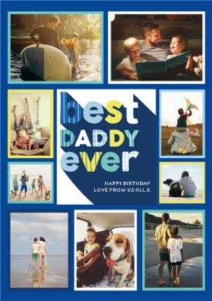 Greeting Cards - Best Daddy Ever - Photo upload card  - Image 1