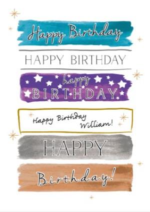 Greeting Cards - All The Ways To Say Happy Birthday Card - Image 1
