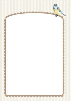 Greeting Cards - Alphabet Animal Antics U Is For Personalised Happy Birthday Card - Image 3