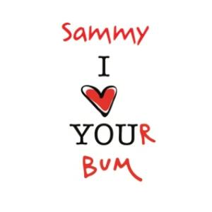 Greeting Cards - I Heart Your Bum Card - Image 1
