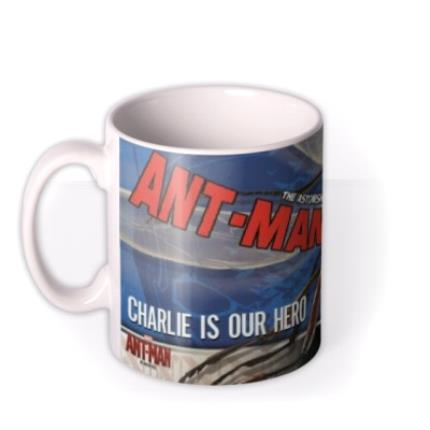 Mugs - Marvel Ant-Man Riding Personalised Mug - Image 1