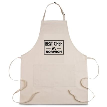 Gifts For Home - Personalised Best Chef Apron - Image 1