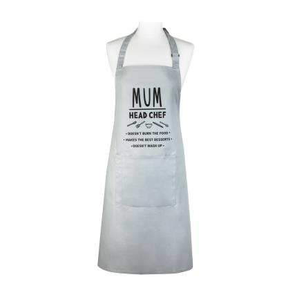 Gifts For Home - Mum Head Chef Adult Apron - Image 1
