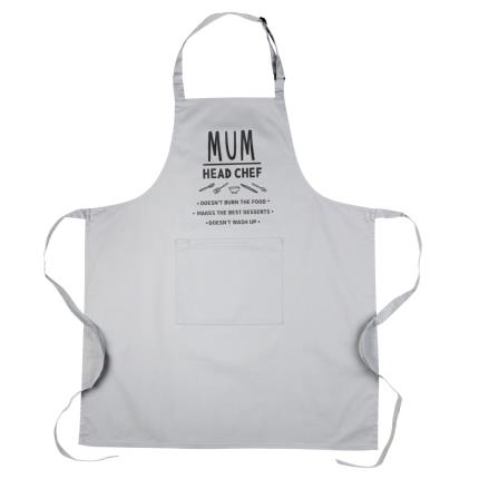 Gifts For Home - Mum Head Chef Adult Apron - Image 3