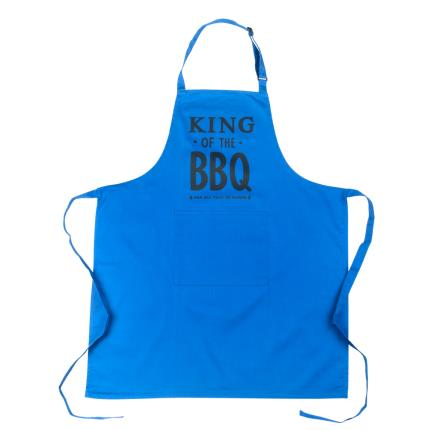 Gifts For Home - King of the BBQ Adult Apron - Image 3