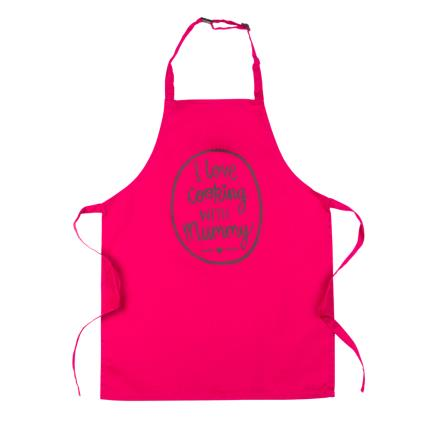 Gifts For Home - I Love Cooking With Mummy Kids Apron - Image 2