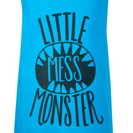 Gifts For Home - Little Mess Monster Kids Apron - Image 2