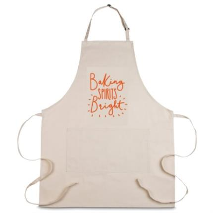 Gifts For Home - Baking Spirits Bright Personalised Apron - Image 1