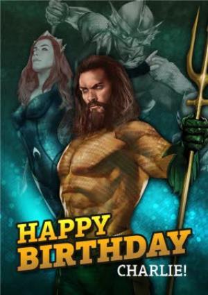 Greeting Cards - Aquaman - Happy birthday Card - Image 1