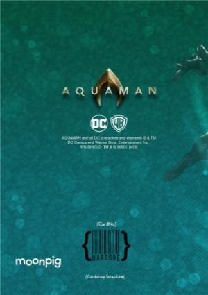 Greeting Cards - Aquaman - Happy birthday Card - Fight for Justice - Image 4