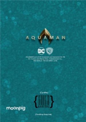 Greeting Cards - Aquaman - Happy birthday Card - Unite The Kingdoms - Photo Upload - Image 4