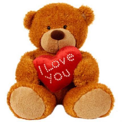 Gifts (non customisable) - 'I Love You' Teddy Bear - Image 1