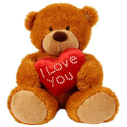 Gifts (non customisable) - 'I Love You' Teddy Bear - Image 2
