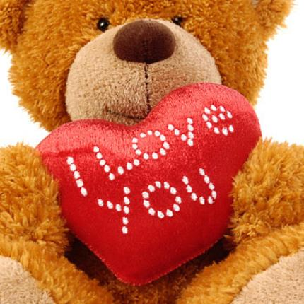 Gifts (non customisable) - 'I Love You' Teddy Bear - Image 3