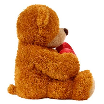 Gifts (non customisable) - 'I Love You' Teddy Bear - Image 4