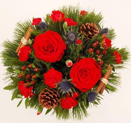 Flowers - Festive Basket - Image 2