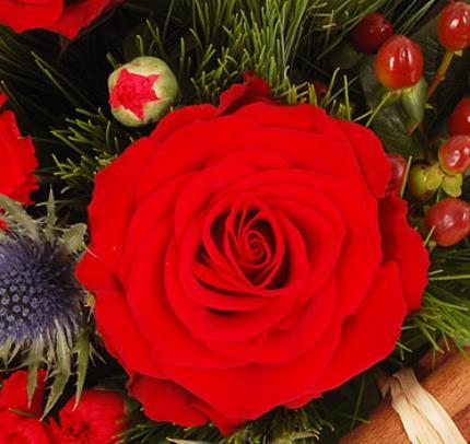 Flowers - Festive Basket - Image 3