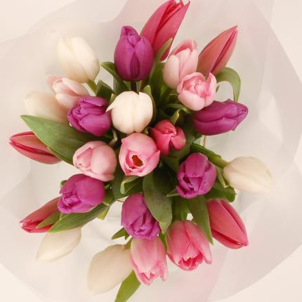 Flowers - Pastel Tulips Gift Bag - Image 2