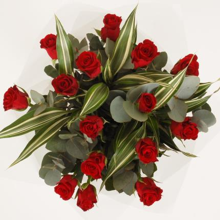 Flowers - Red Roses Bouquet - Image 2