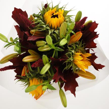 Flowers - September Bouquet and Chocolates - Image 2