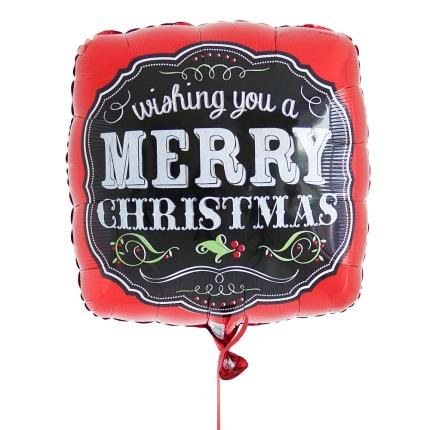 Balloons - Merry Christmas Balloon  - Image 2