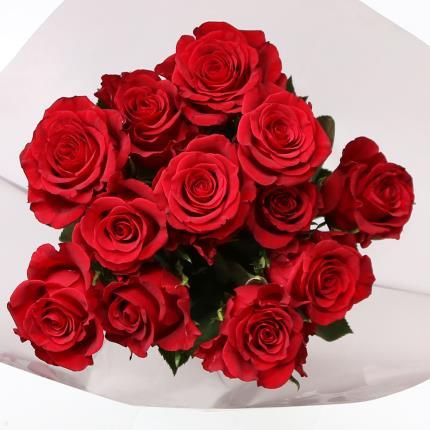 Flowers - Dozen Red Roses  - Image 2
