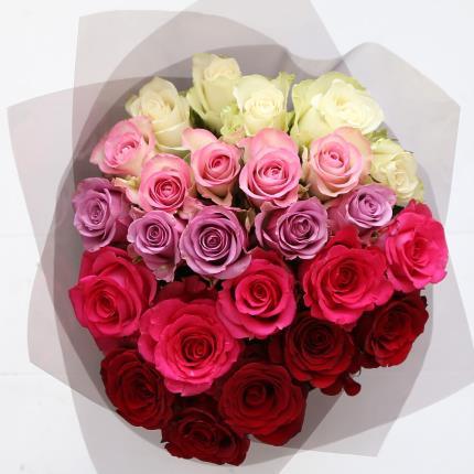 Flowers - Gradient Rose Hat Box - Image 2