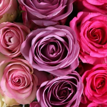 Flowers - Gradient Rose Hat Box - Image 3
