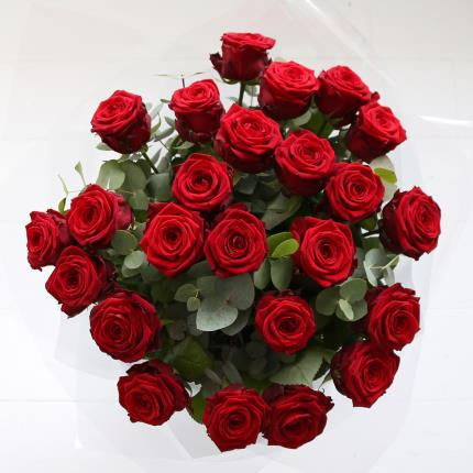 Flowers - Two Dozen Red Roses - Image 2
