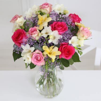 Flowers - Rose and Freesia - Image 2