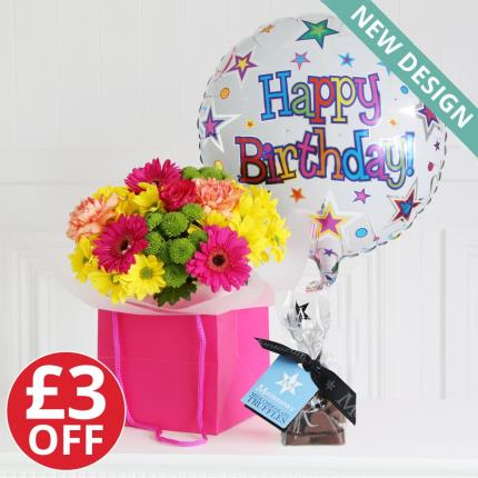 Flowers - Happy Birthday Gift Set - Image 2