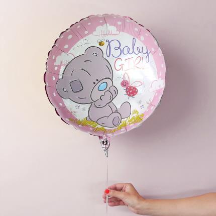 Balloons - Tiny Tatty Baby Girl Balloon - Image 1