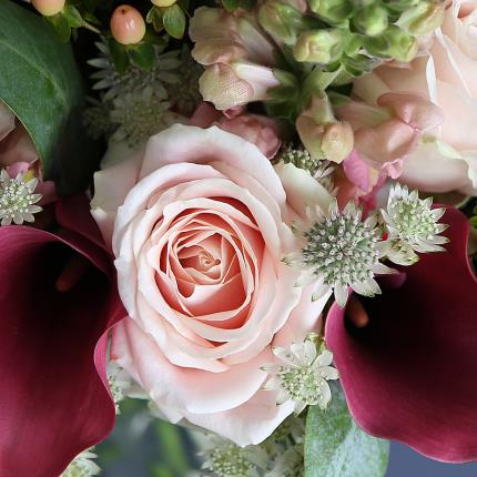 Flowers - Luxury Calla Lily & Rose Bouquet - Image 3