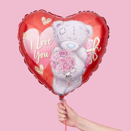 Balloons - I Love You Tatty Teddy Balloon - Image 2