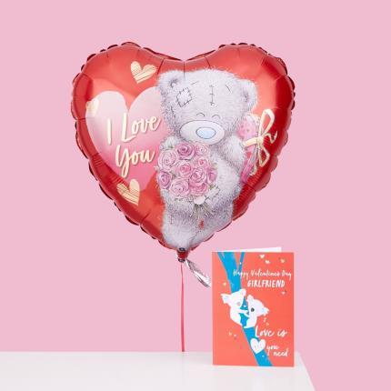 Balloons - I Love You Tatty Teddy Balloon - Image 3