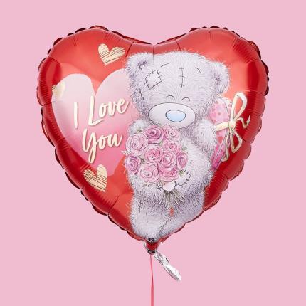 Balloons - I Love You Tatty Teddy Balloon - Image 4