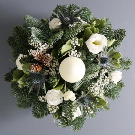 Flowers - Candle Arrangement - Image 2