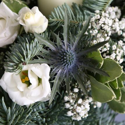 Flowers - Candle Arrangement - Image 3