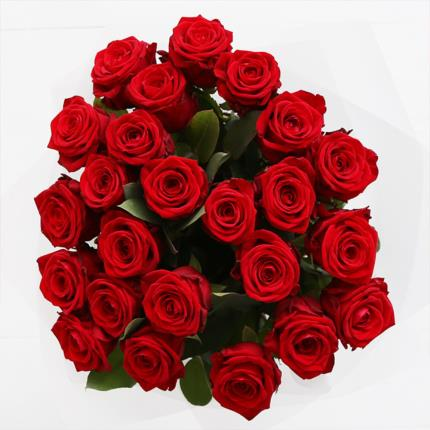 Flowers - Two Dozen Luxury Red Roses - Image 3