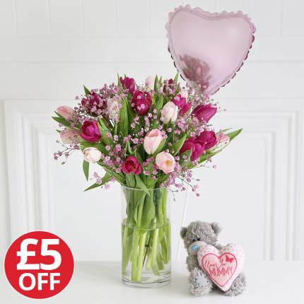 Flowers - Mother's Day Tatty Teddy Gift Set - Image 2