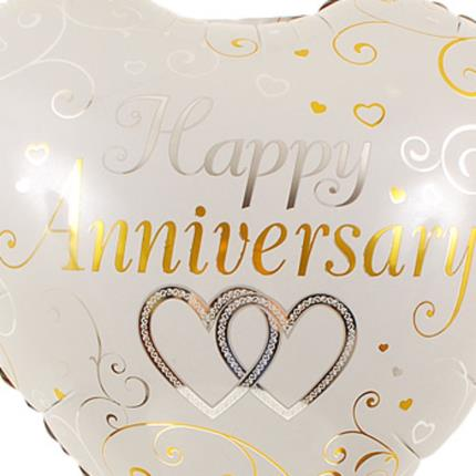 Gifts (non customisable) - Happy Anniversary Balloon - Image 3